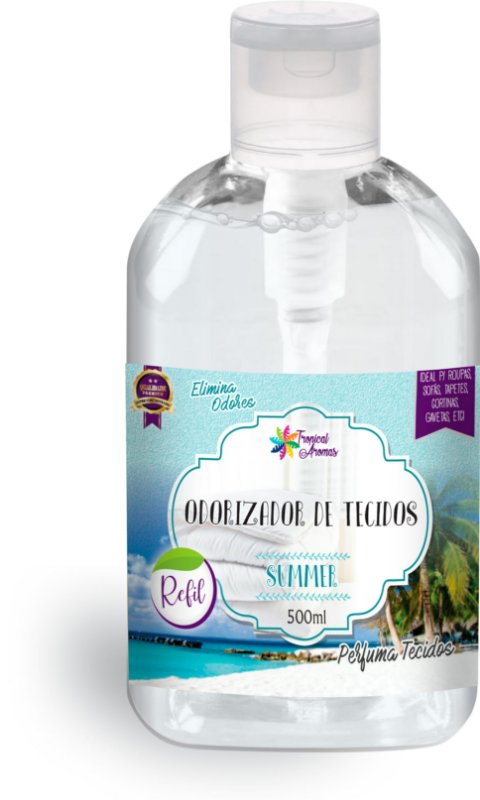 REFIL Odorizador de Tecidos Tropical Aromas – Summer 500ml