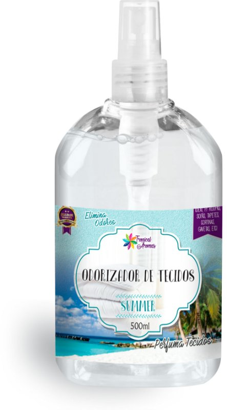 Odorizador de Tecidos Spray Tropical Aromas – Summer 500ml