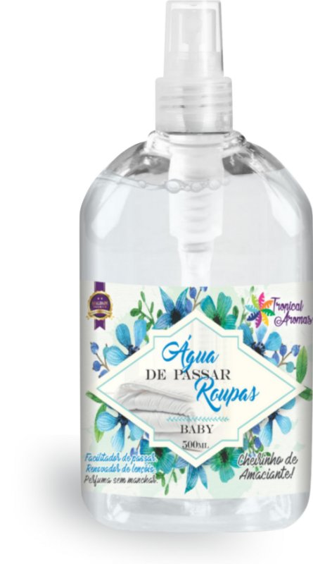 Água de Passar Baby Spray Tropical Aromas 500ml