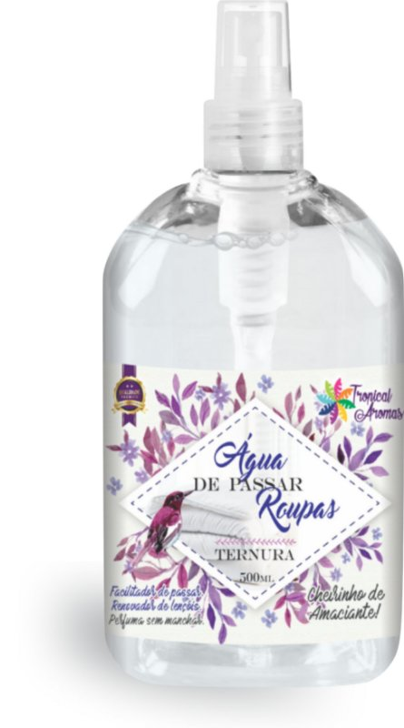 Água de Passar Ternura Spray Tropical Aromas 500ml