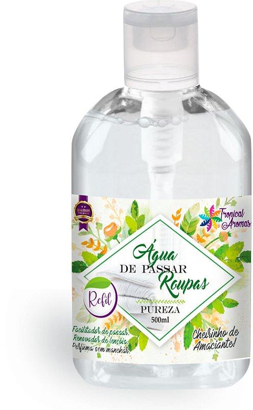 Refil Água de Passar Pureza  Tropical Aromas 500ml