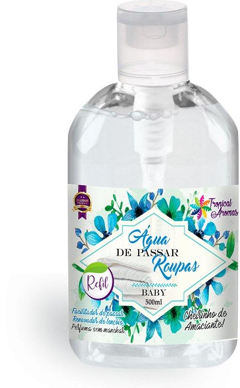 Refil Água de Passar Baby 500ml - Tropical Aromas