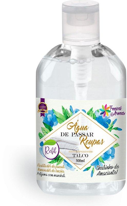 Refil Água de Passar Talco Tropical Aromas 500ml