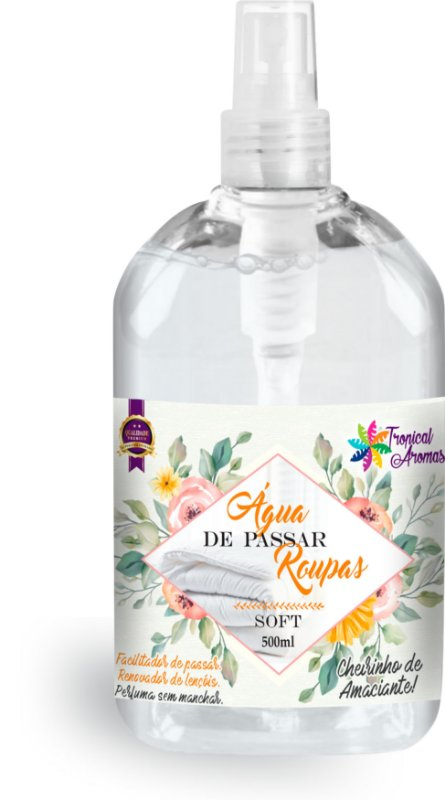 Água de Passar Soft Spray Tropical Aromas 500ml