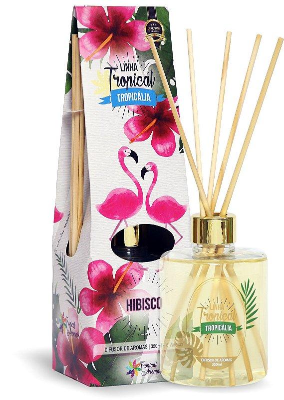 Difusor de luxo – Tropicália Flamingo e Hibisco 350ml