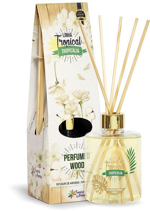 Difusor de luxo – Tropicália Perfumed Wood 350ml