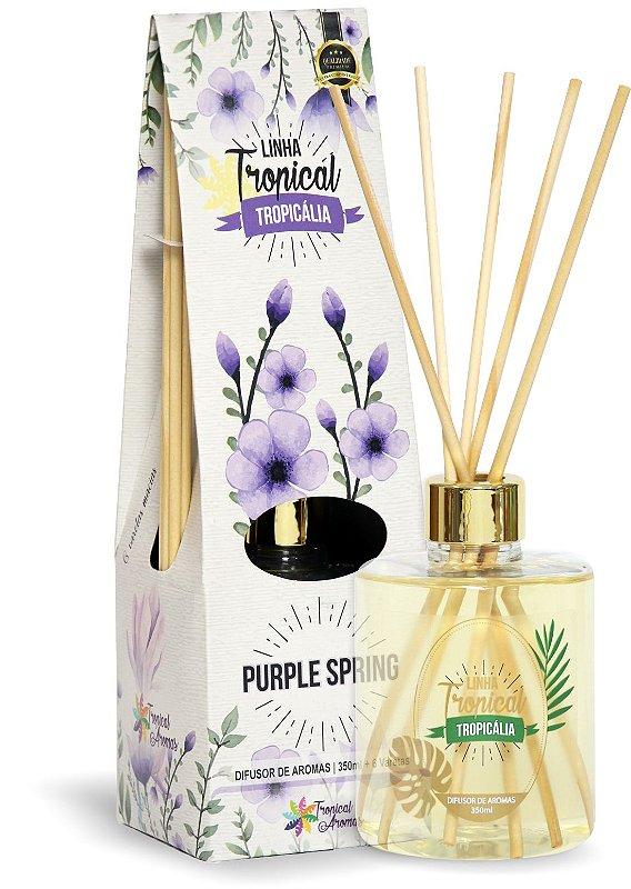 Difusor de luxo – Tropicália Purple spring 350ml