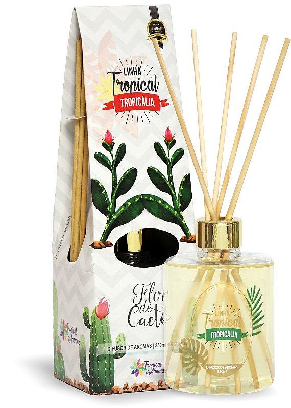 Difusor de luxo – Tropicália Flor de Cacto 350ml