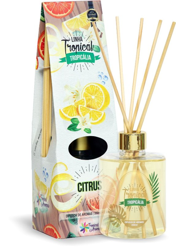 Difusor de luxo – Tropicália Citrus 350ml