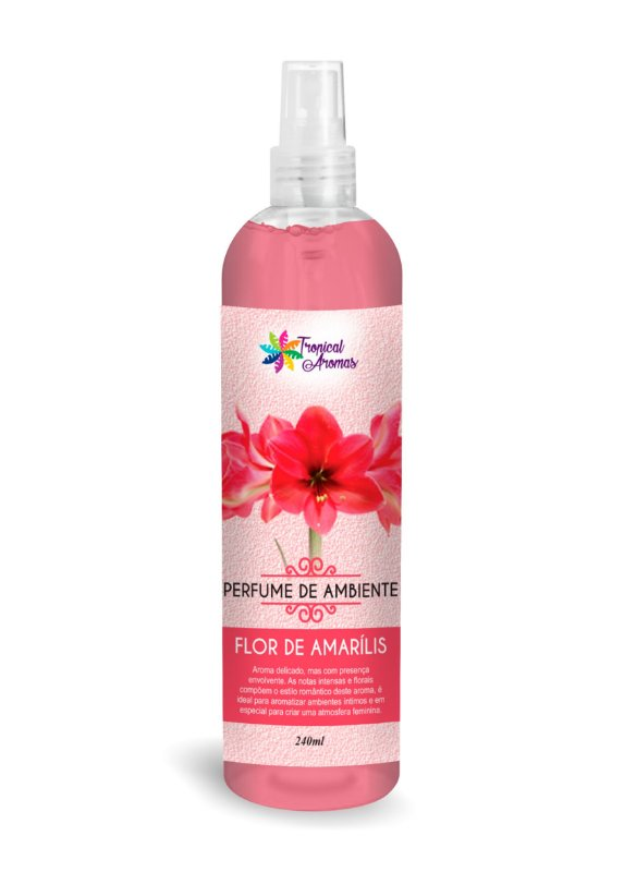 Perfume de Ambiente Flor de Amarílis 240ml