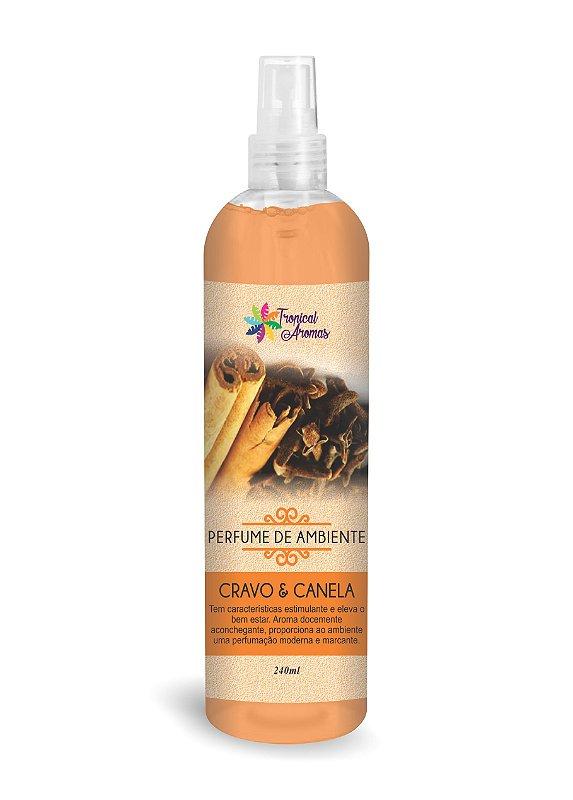 Perfume de Ambiente Cravo e Canela 240ml - Tropical Aromas