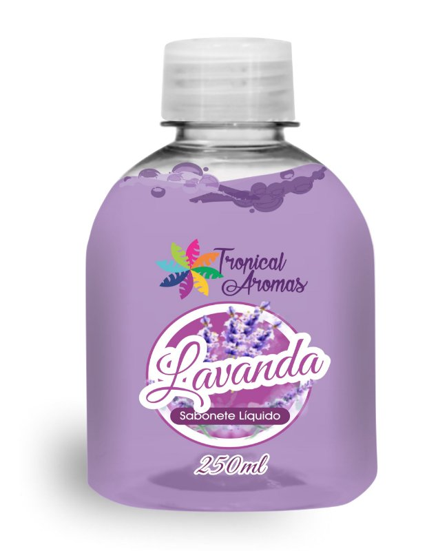 REFIL Sabonete Líquido Tropical Aromas Lavanda 250ML