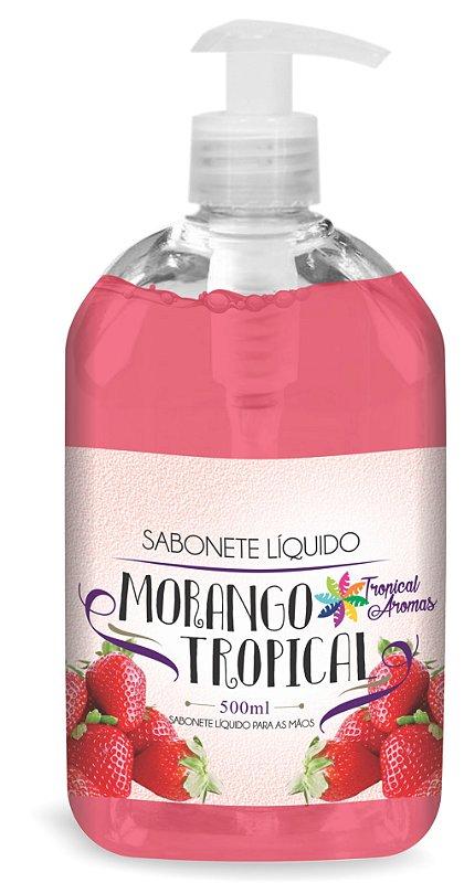 Sabonete Liquido Tropical Aromas Morango c/ Válvula500ml