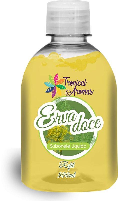 REFIL Sabonete Líquido Tropical Aromas Erva Doce 500ML