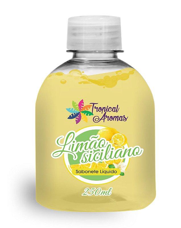 REFIL Sabonete Líquido Tropical Aromas Limão Siciliano 250ml