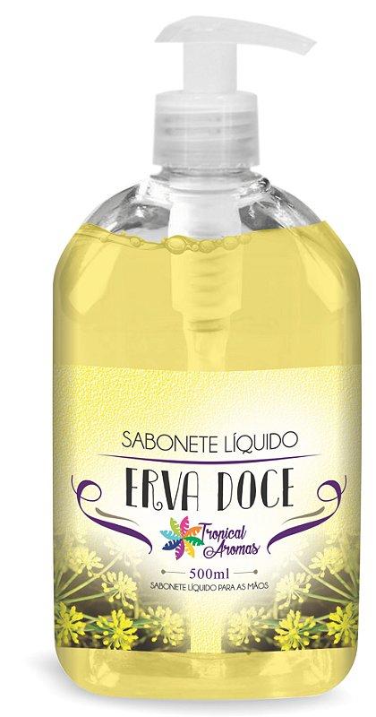 Sabonete LiquidoErva Doce 500ml - Tropical Aromas