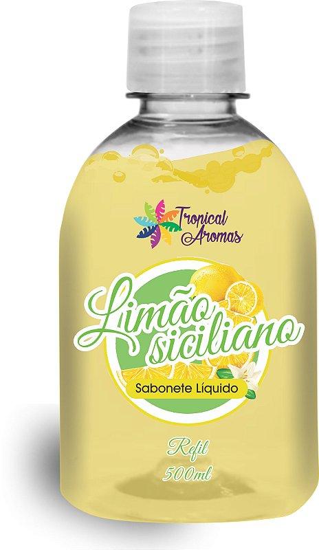 REFIL Sabonete Líquido Tropical Aromas Limão Siciliano 500ML