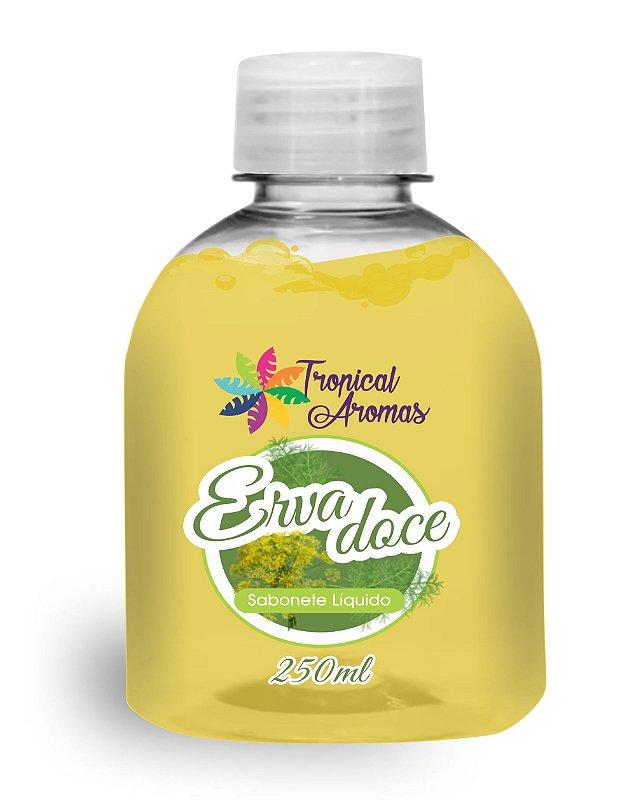 REFIL Sabonete Líquido Tropical Aromas Erva Doce 250ml