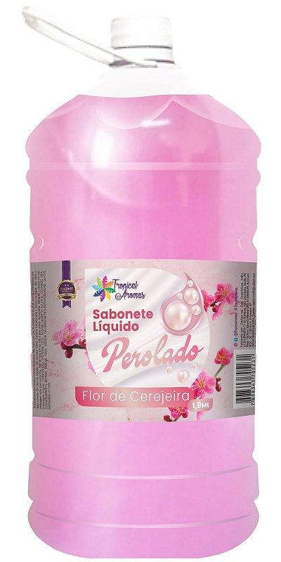 Sabonete Perolado Tropical Aromas Flor de Cerejeira 1,9L