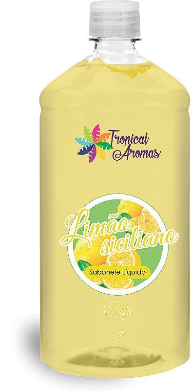 REFIL Sabonete Líquido Tropical Aromas Limão Siciliano 1L