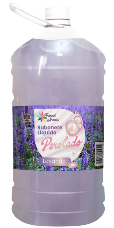 Sabonete Perolado Tropical Aromas Lavanda 1,9L
