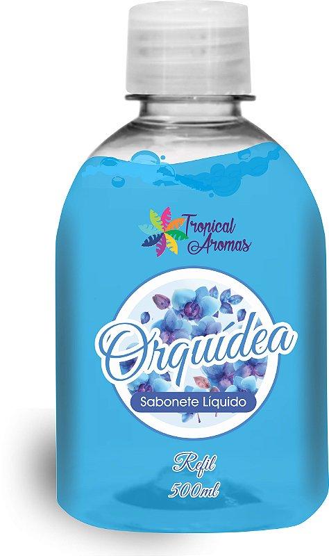REFIL Sabonete Líquido Tropical Aromas Orquídea500ML