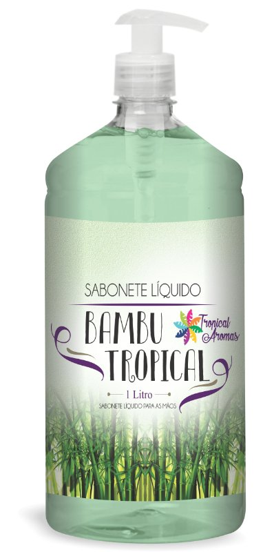 Sabonete Líquido Bambu1l - Tropical Aromas