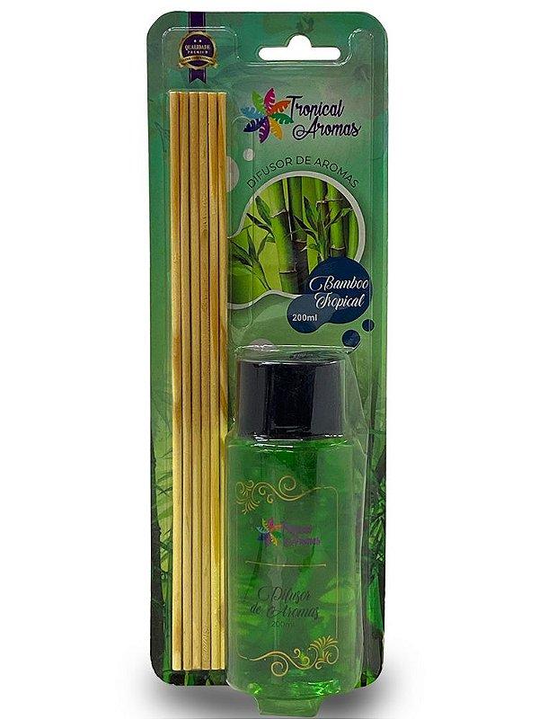 Difusor Blister Bambu 200ml - Tropical Aromas