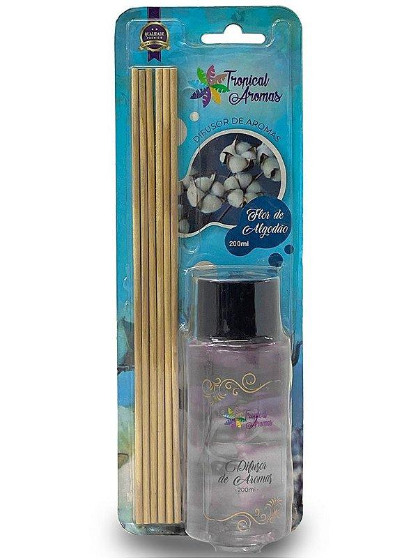 Difusor Blister Flor de Algodão 200ml - Tropical Aromas