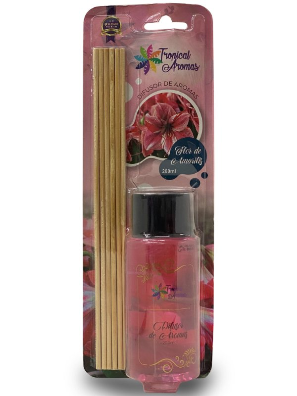 Difusor Blister Flor De Amarilis 200ml -  Tropical Aromas