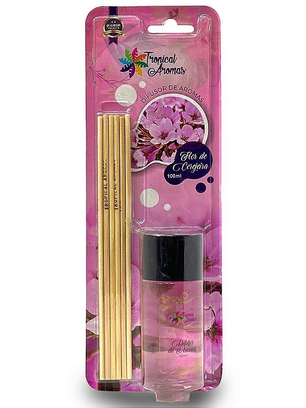 Difusor Blister Flor de Cerejeira 100ml - Tropical Aromas
