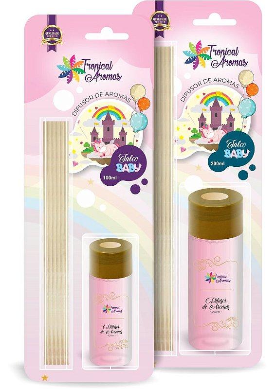 Difusor Blister Talco Baby 200ml - Tropical Aromas