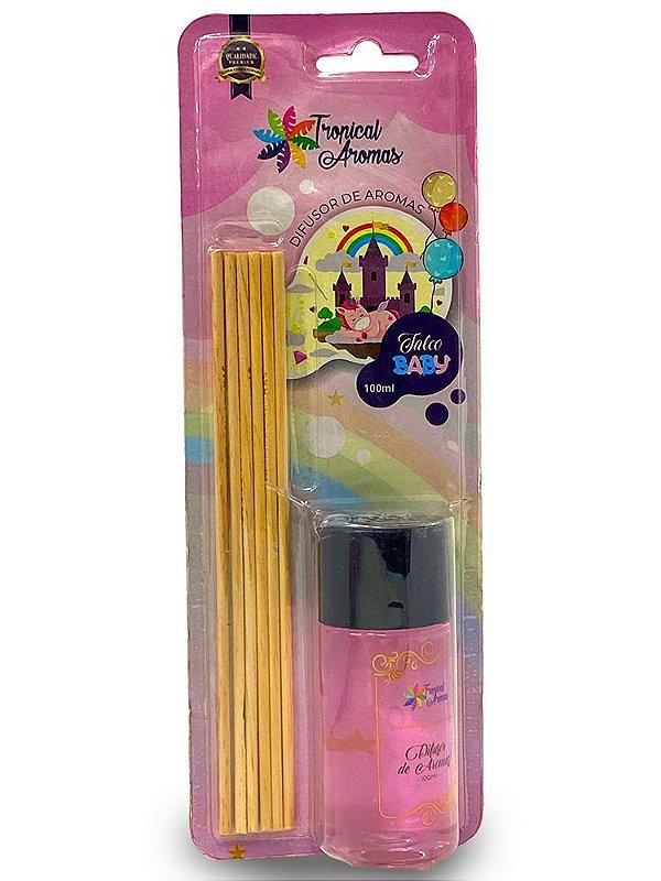 Difusor Blister Talco Baby 100ml - Tropical Aromas