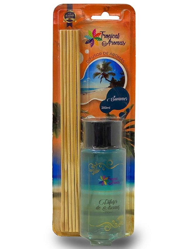 Difusor Blister Summer 200ml - Tropical Aromas
