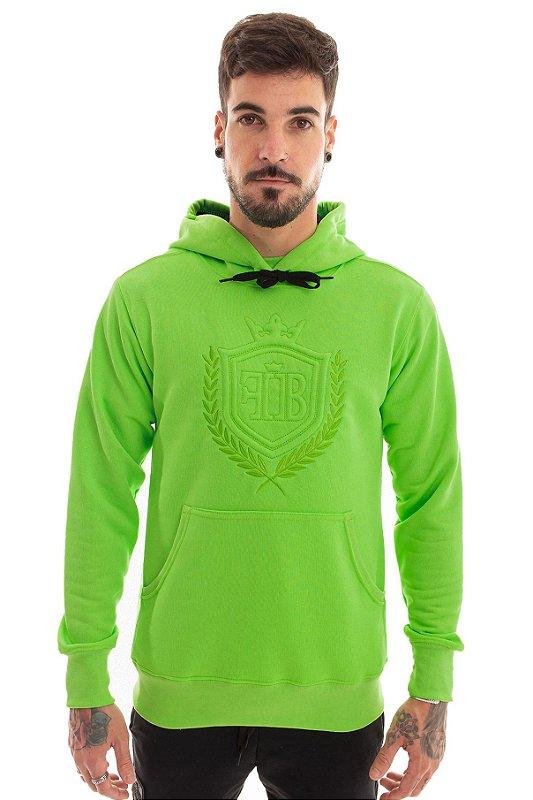 Blusa Moletom FB Brasão Green