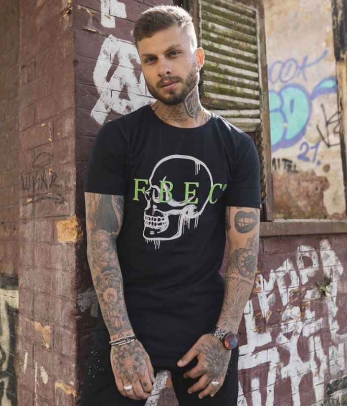 Camiseta FBEC Skull Preta