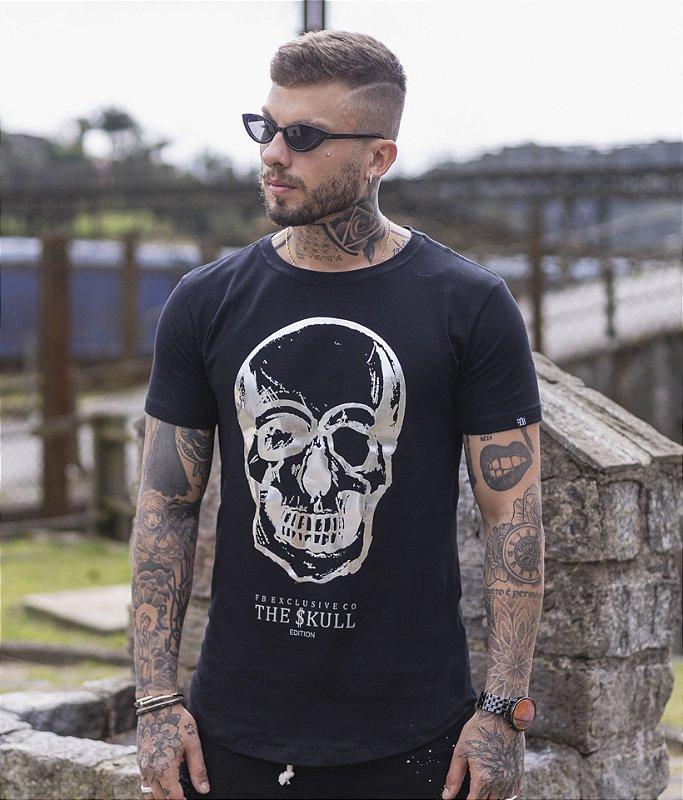 Camiseta FB Skull Prata