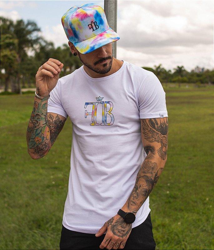 Camiseta Logo Tie Dye
