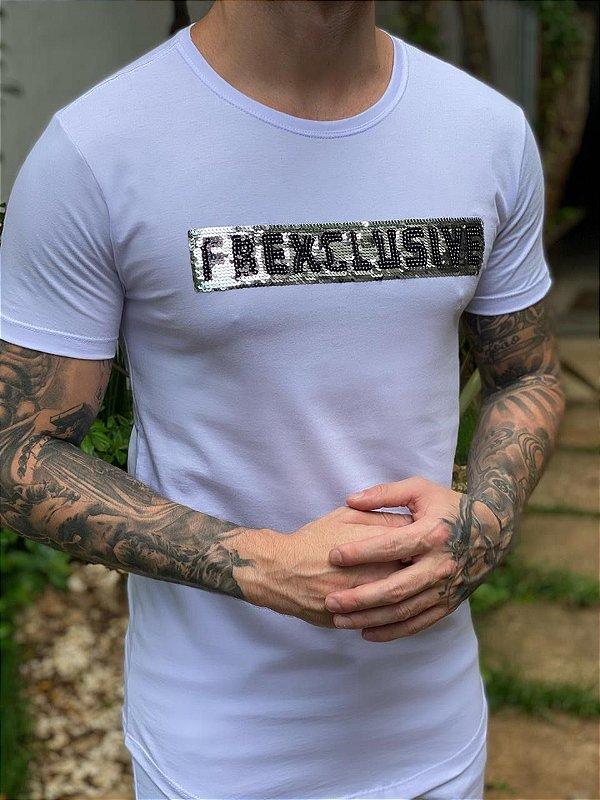 Camiseta FB Exclusive Paête Branca