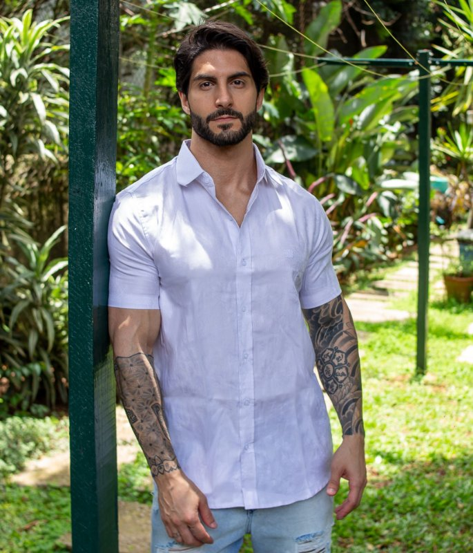 Camisa Leafs White