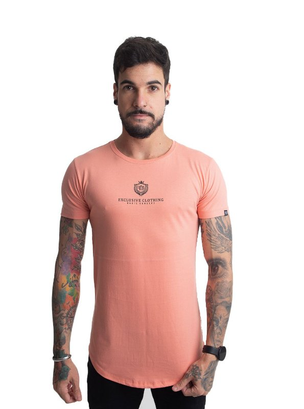 Camiseta Basic Concept Salmão
