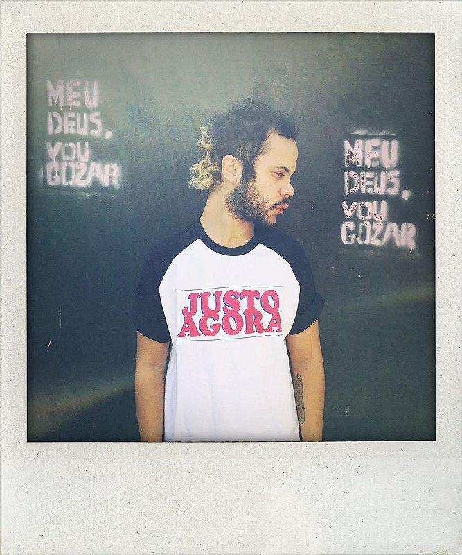 """Camiseta """"Justo agora"""""""