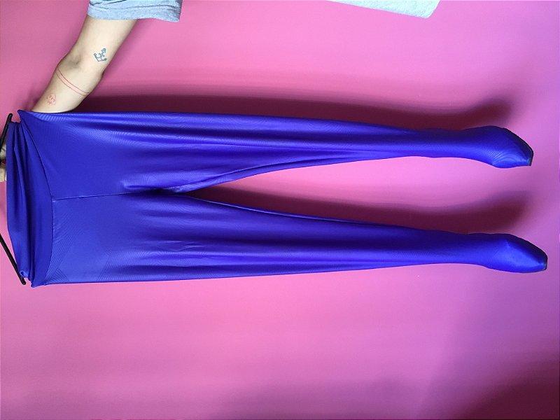 legging-sapato azul - figurino de show tiê - tamanho G