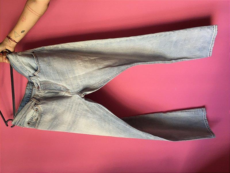 jeans levi's 501 brechó - tamanho US: W30 L32