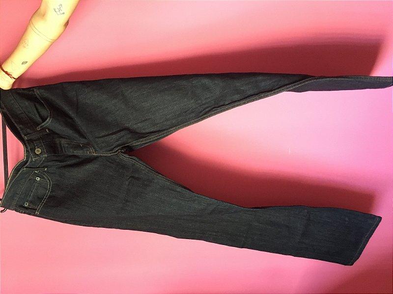 jeans levi's 514 masculina brechó - tamanho US: W36 L34