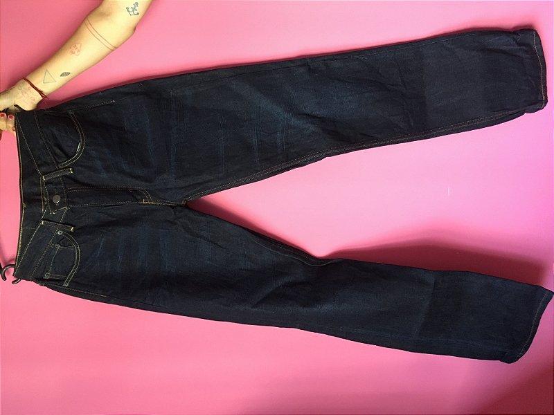 jeans levi's 514 masculina brechó - tamanho US: W33 L34