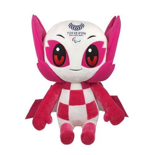 Mascote Paralímpico 2021 Pelúcia Someity