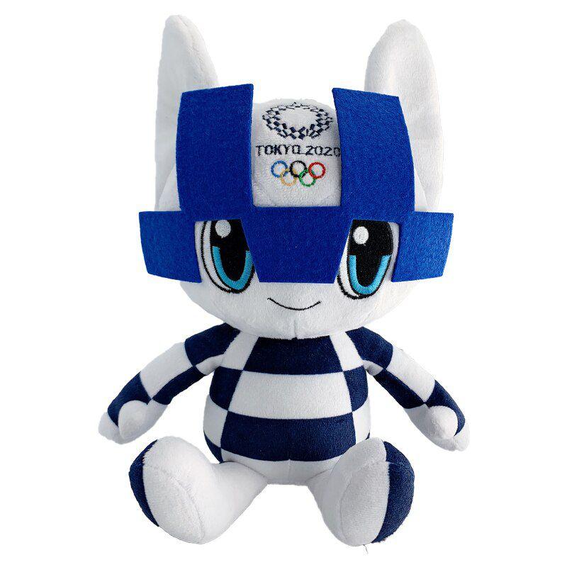 Mascote das Olimpíadas 2021 Pelúcia Miraitowa 35cm