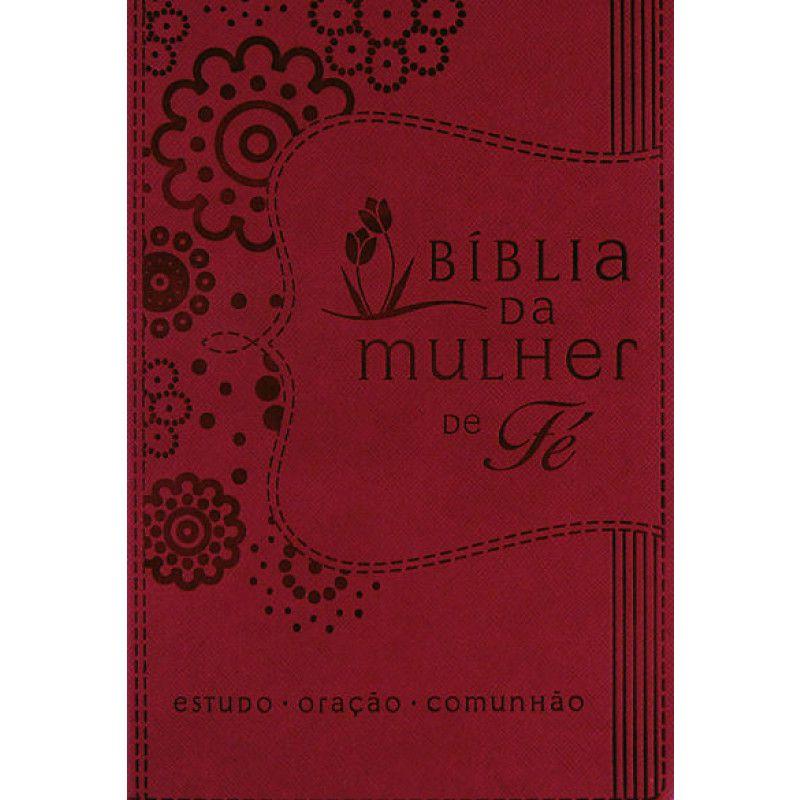 Bíblia   NVI   Mulher de Fé Sheila Walsh   Letra Normal   Capa Sintética   Púrpura