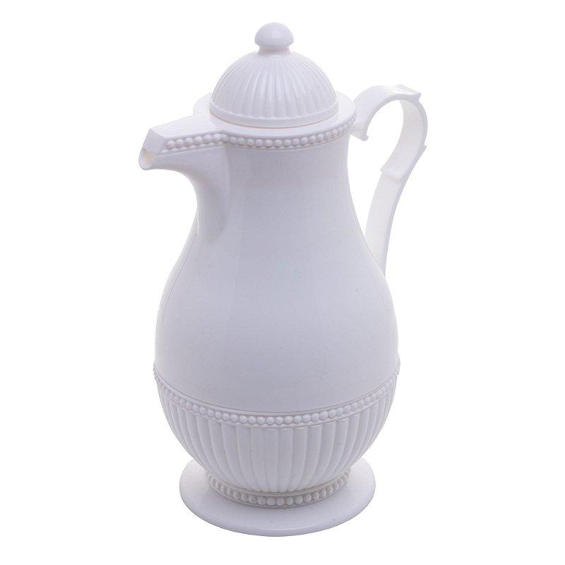 Garrafa Térmica Vintage Lyor 1L Branco